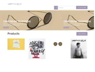 shop.impossible.com screenshot
