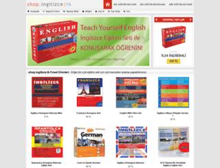 shop.ingilizce.tk screenshot