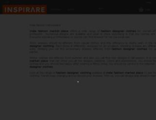 shop.inspirare.com screenshot