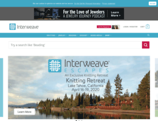 shop.interweave.com screenshot