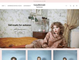 shop.ivanahelsinki.com screenshot