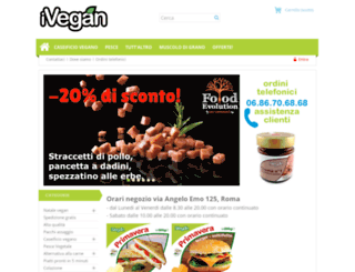 shop.ivegan.it screenshot