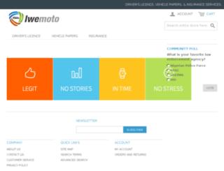 shop.iwemoto.com screenshot