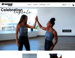 shop.jazzercise.com screenshot