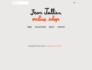 shop.jeanjullien.com screenshot