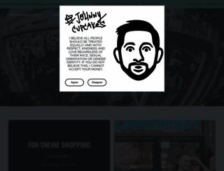 shop.johnnycupcakes.com screenshot