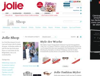 shop.jolie.de screenshot