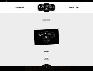 shop.karlstrauss.com screenshot