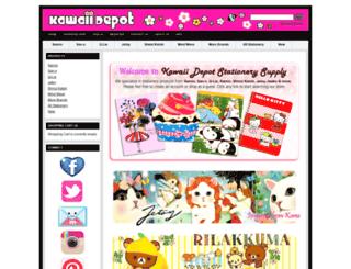 shop.kawaiidepot.com screenshot
