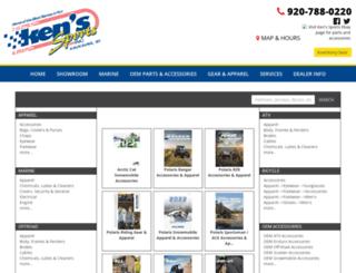 shop.kenssports.com screenshot