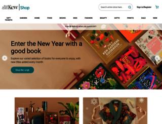 shop.kew.org screenshot