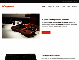 shop.keyboard.io screenshot