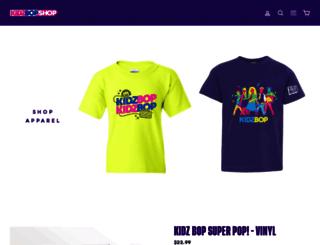 shop.kidzbop.com screenshot
