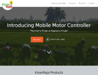 shop.kisanraja.com screenshot