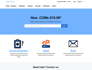 shop.koofoodomains.com screenshot