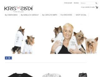 shop.krisnkris.com screenshot