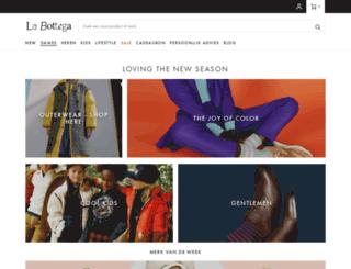 shop.labottega.be screenshot