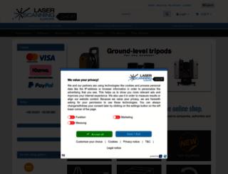 shop.laserscanning-europe.com screenshot