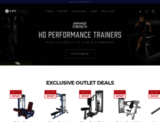 shop.lifefitness.com screenshot