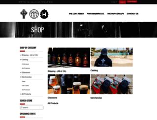 shop.lostabbey.com screenshot
