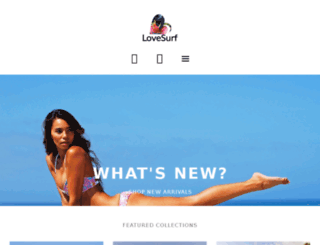 shop.lovesurf.com screenshot