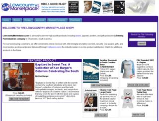 shop.lowcountrymarketplace.com screenshot