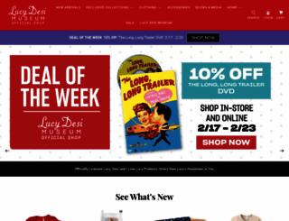 shop.lucy-desi.com screenshot