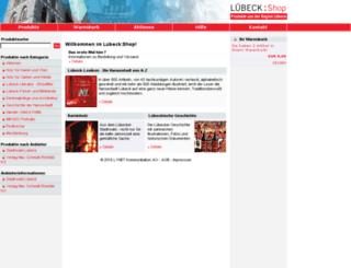 shop.luebeck.de screenshot