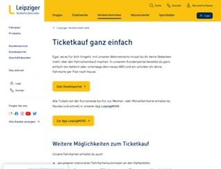 shop.lvb.de screenshot