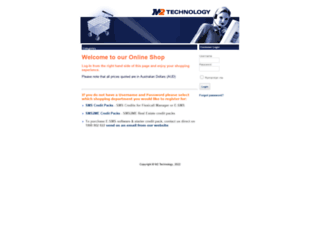shop.m2technology.com.au screenshot
