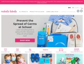shop.mabelslabels.com screenshot