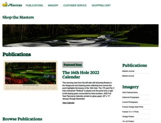 shop.masters.com screenshot