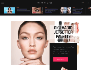shop.maybelline.co.th screenshot