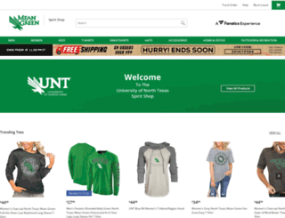 shop.meangreensports.com screenshot