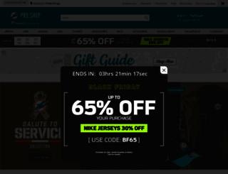 shop.miamidolphins.com screenshot