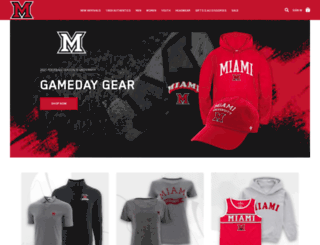 shop.miamiredhawks.com screenshot