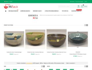 shop.mifan.it screenshot