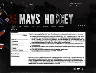 shop.missourimavericks.com screenshot