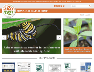 shop.monarchwatch.org screenshot