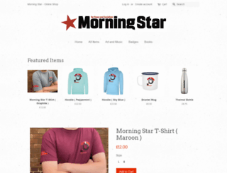 shop.morningstaronline.co.uk screenshot