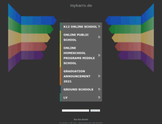 shop.mykarro.de screenshot