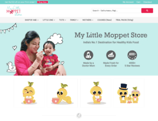 shop.mylittlemoppet.com screenshot