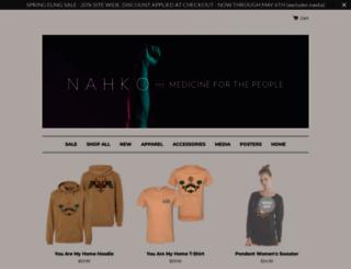shop.nahko.com screenshot