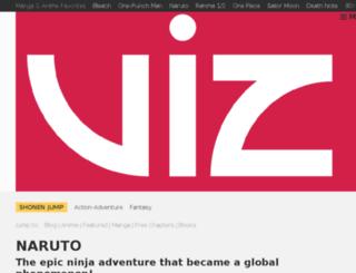 shop.naruto.com screenshot
