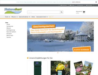 shop.naturagart.de screenshot