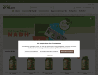 shop.naturprodukte.nl screenshot