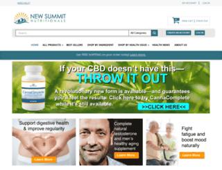 shop.newsummitnutritionals.com screenshot