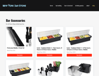 shop.newyorkbarstore.com screenshot