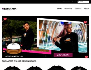 shop.nextshark.com screenshot