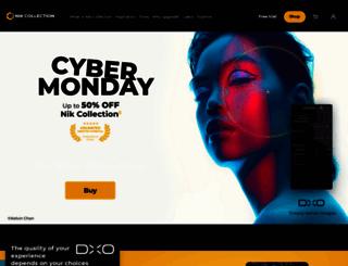 shop.niksoftware.com screenshot